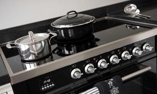 Zwart Keuken Fornuis : Inductie fornuis koken op inductie in iedere keuken