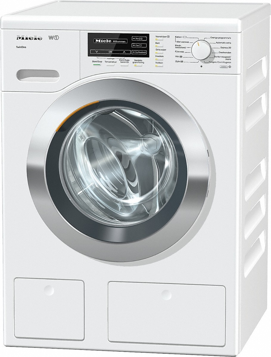Miele WKG120WCS wasmachine met TwinDos