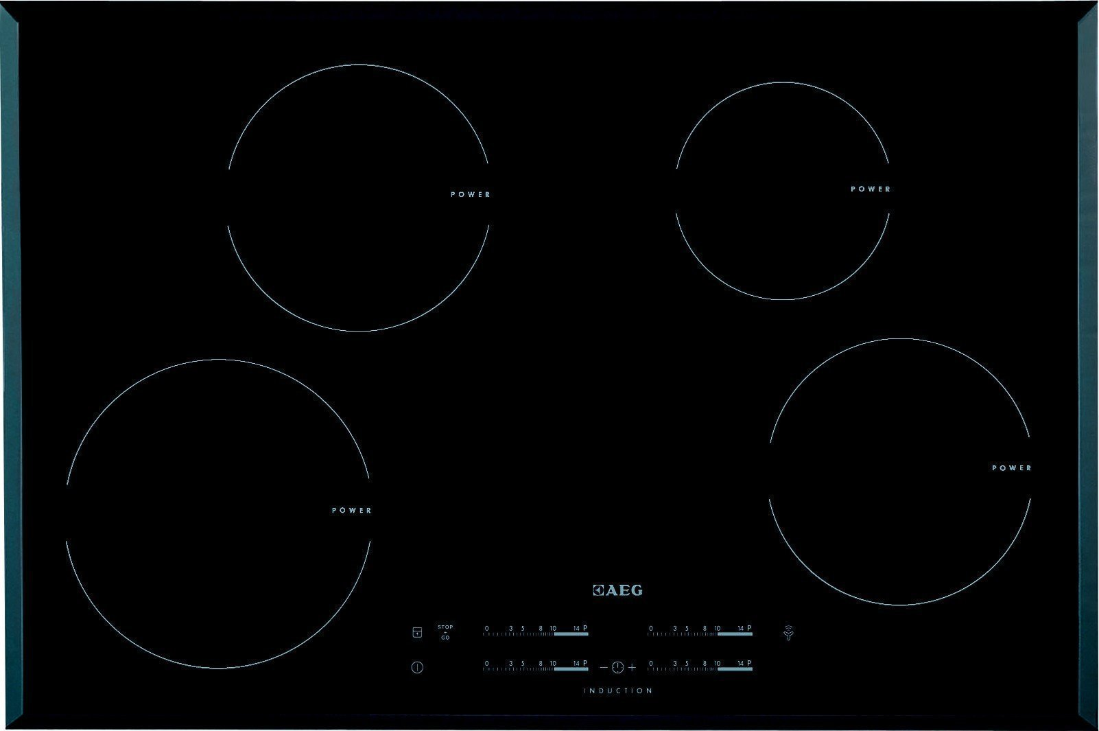 Aeg HK8542H1FB inductie kookplaat