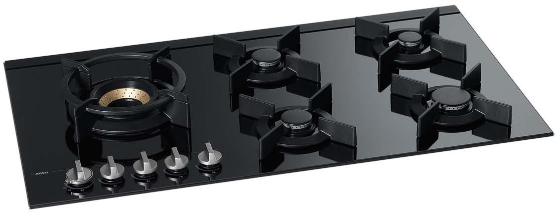 atag hg9571mba inbouw gas kookplaat de schouw witgoed. Black Bedroom Furniture Sets. Home Design Ideas