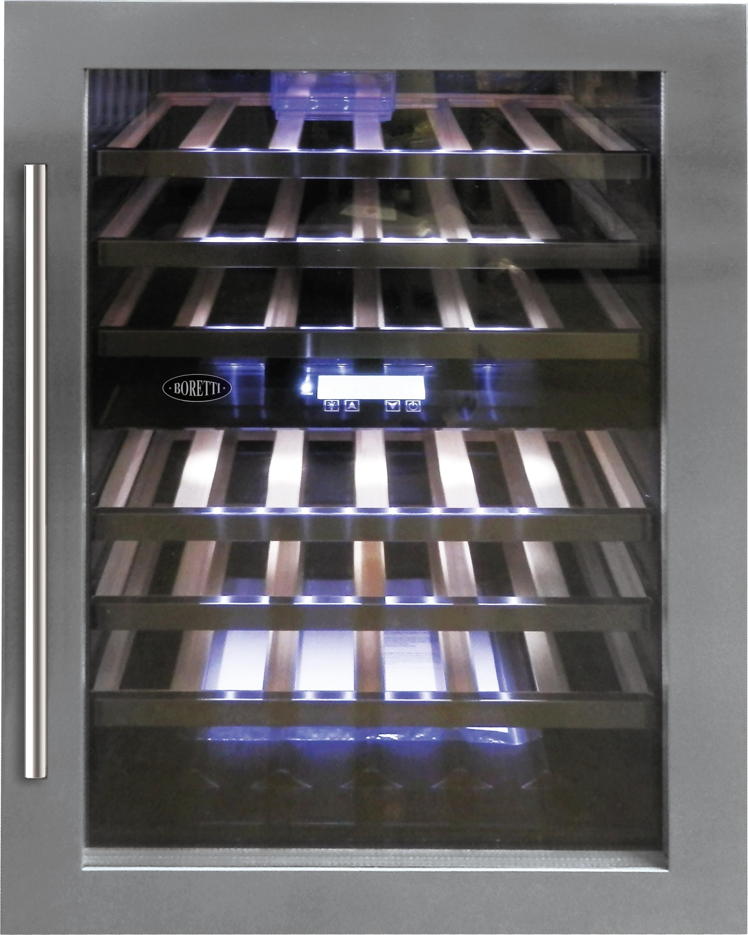 Boretti BPWKN88IX L/R wijn koelkast