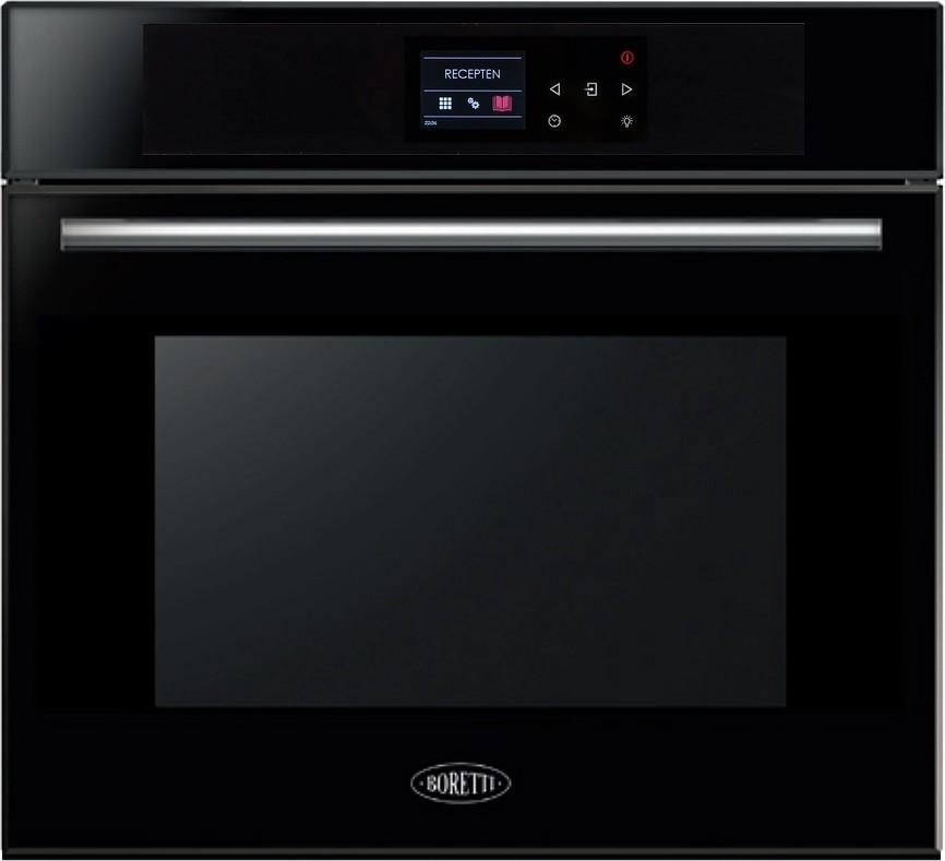 Boretti BPZN60ZWGL inbouw oven - zwart