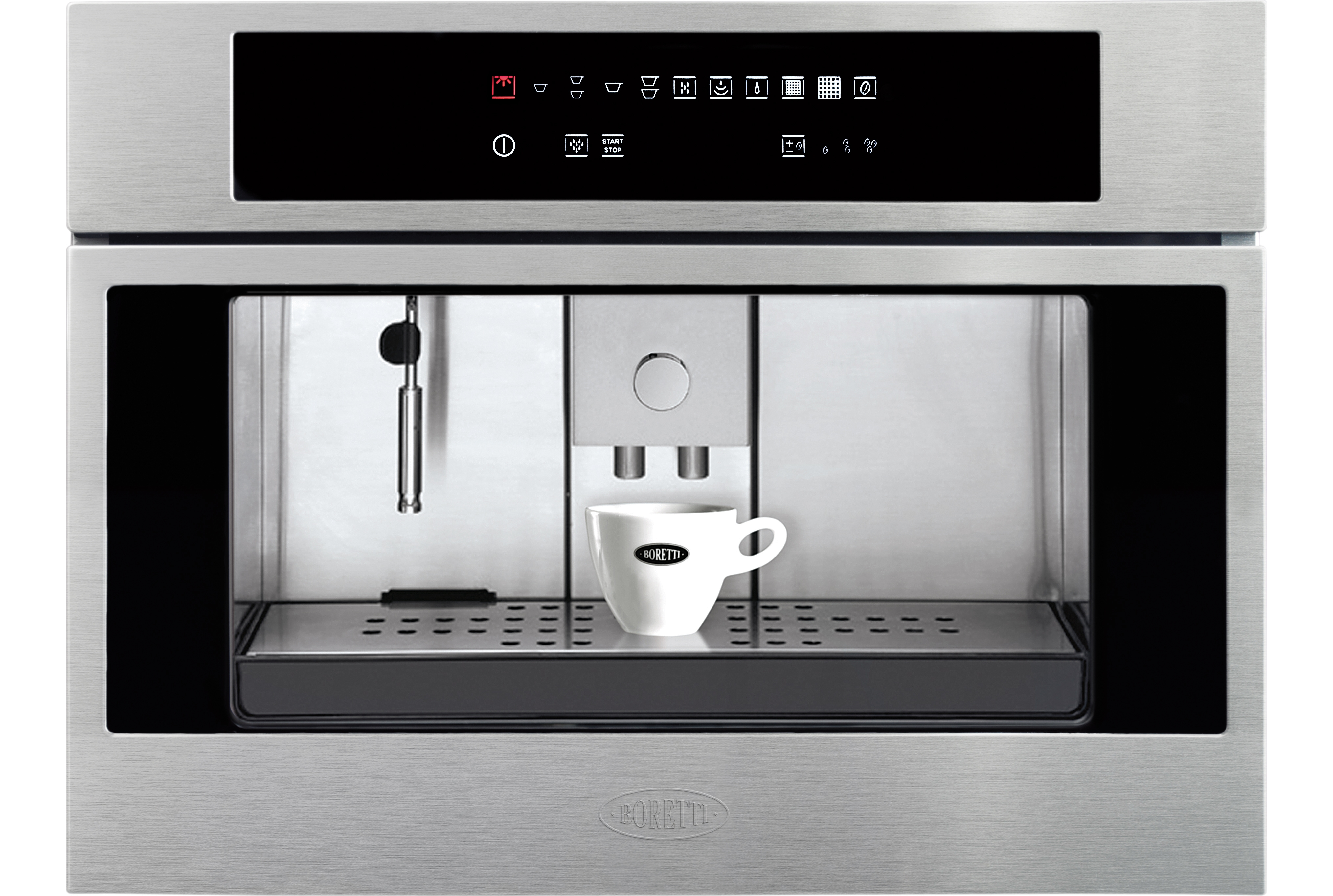 Koffiemachine De Keuken : Boretti bpk45ix koffiemachine rvs de schouw witgoed