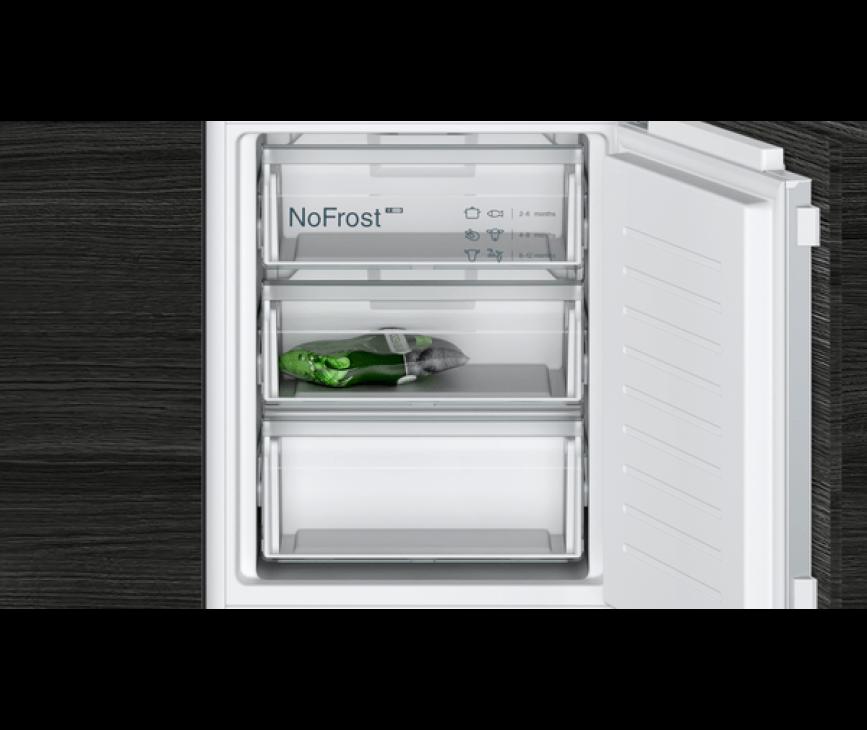 Siemens KI86NVFE0 inbouw koelkast - nis 178 cm.