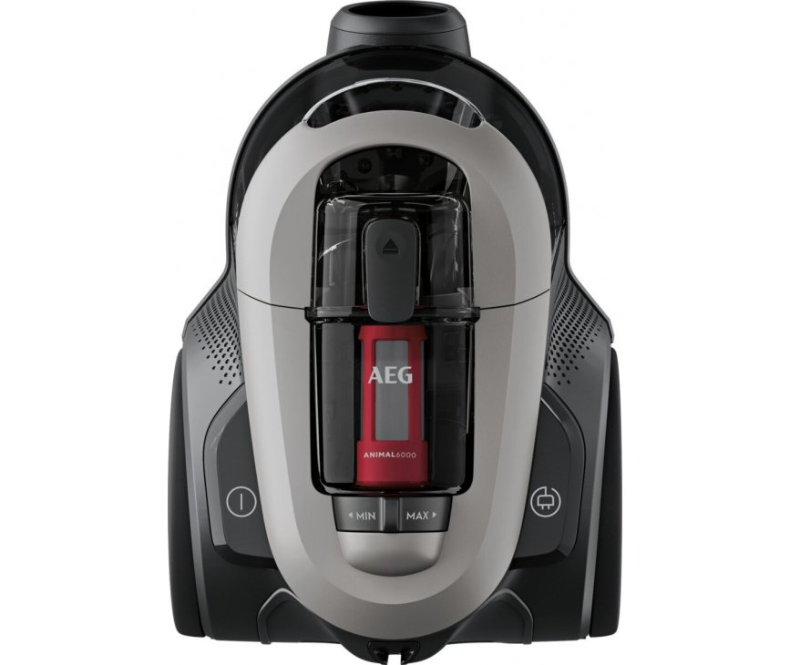 AEG AL61A4UG grijze stofzuiger zonder stofzak - met parket en turbo borstel