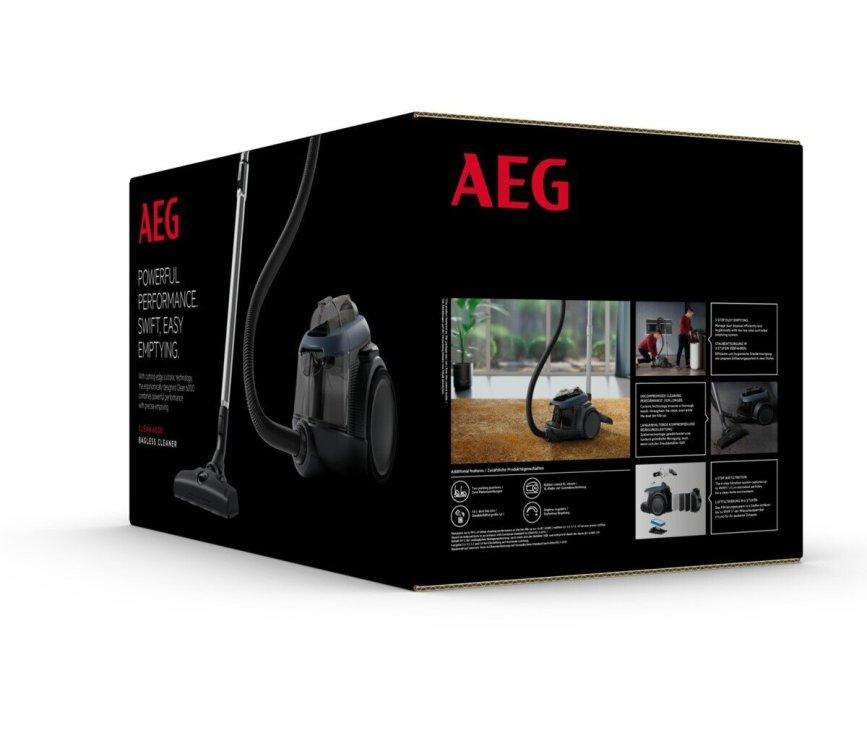 AEG AL61C3DB blauwe stofzuiger zonder stofzak