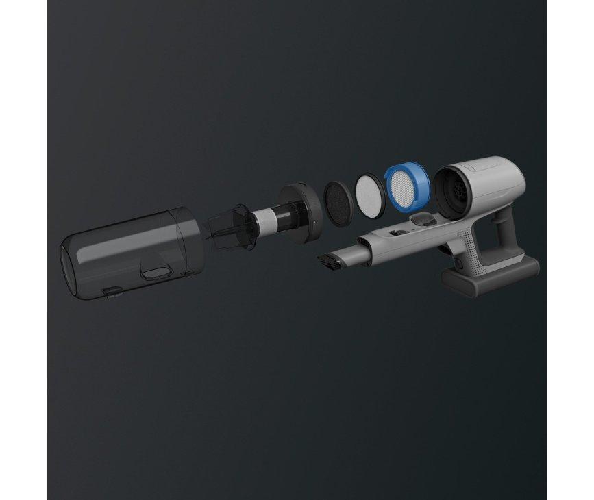 AEG AP81A25ULT steel stofzuiger met accu en PowerRoller