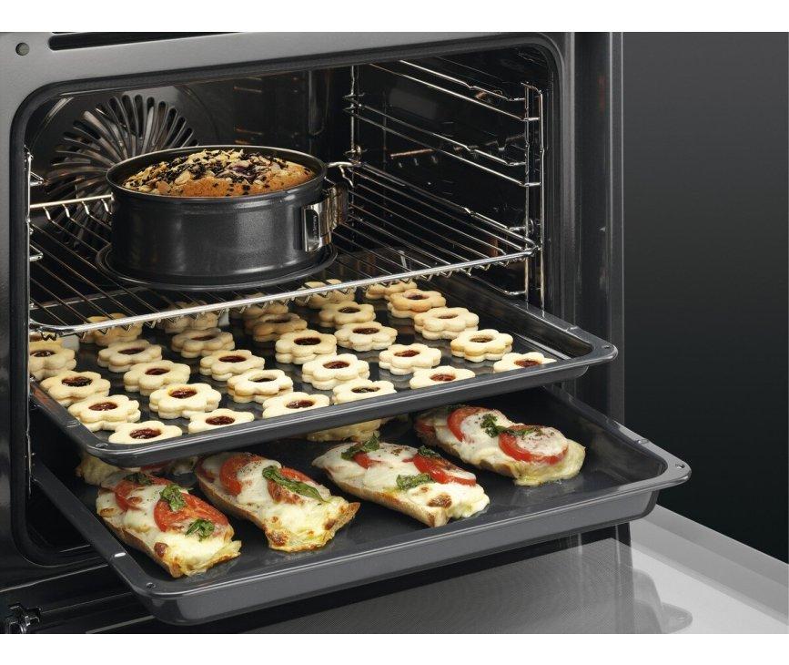 AEG BEE435060B inbouw oven - zwart