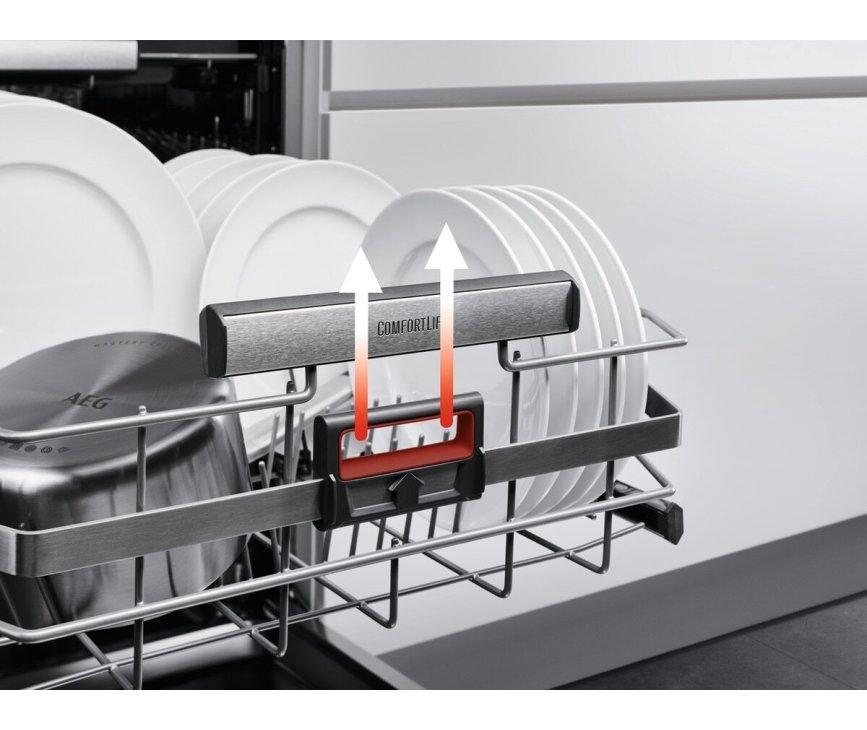 AEG FFB83816PM vrijstaande vaatwasser met Comfortlift - rvs