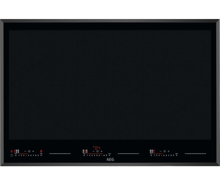 AEG IKE86683FB inbouw inductie kookplaat - TotalFlex 80 cm