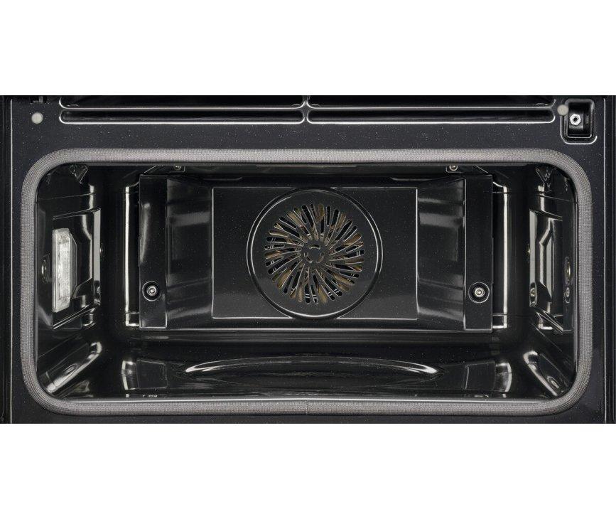 AEG KPE748280M inbouw rvs oven - nis 45 cm. - met pyrolyse
