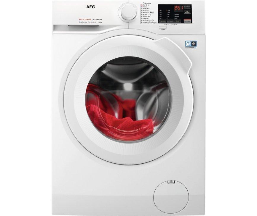 AEG L6FBN8400 wasmachine -  1400 toeren - 8 kg.