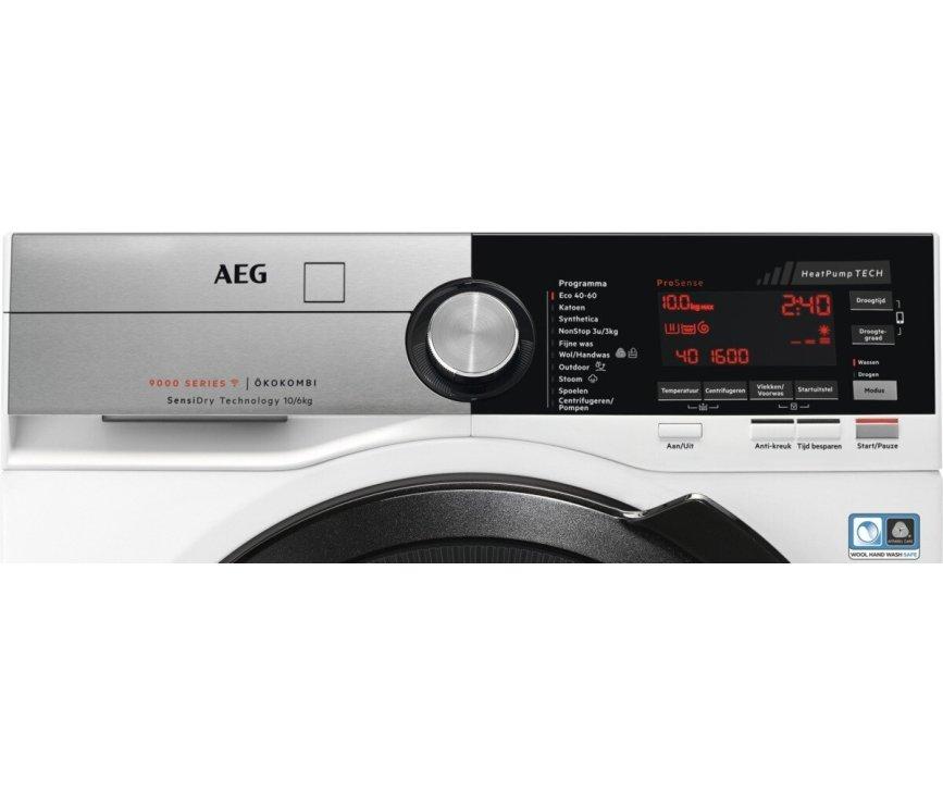 AEG L9WEN066CB was/droogcombinatie