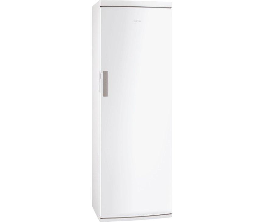 De buitenzijde van de 185 cm. hoge Aeg S44000KDW1 koelkast wit