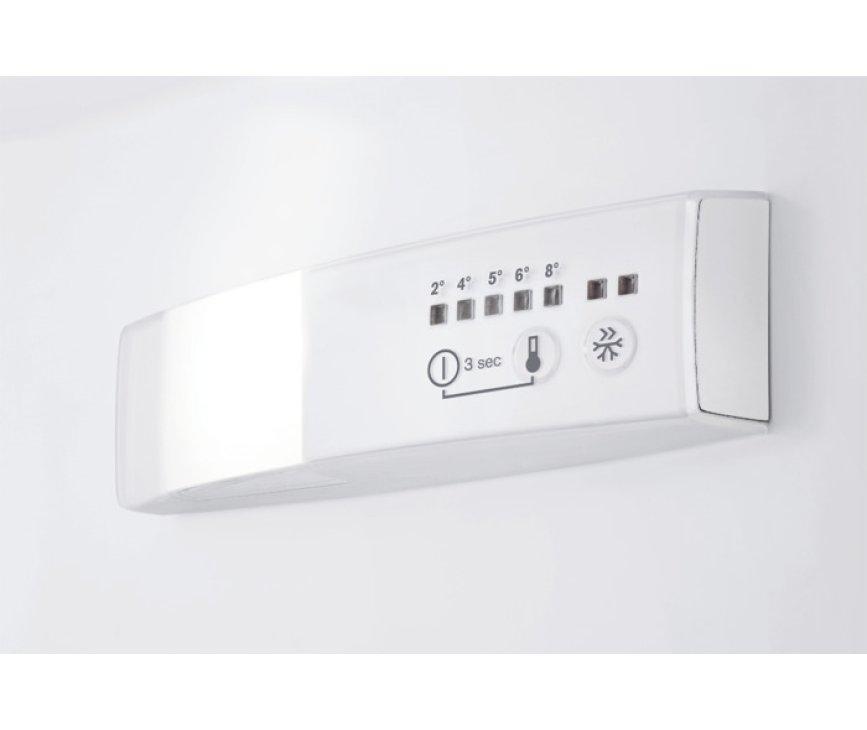 De thermostaat van de Aeg S53420CNW2 koelkast wit