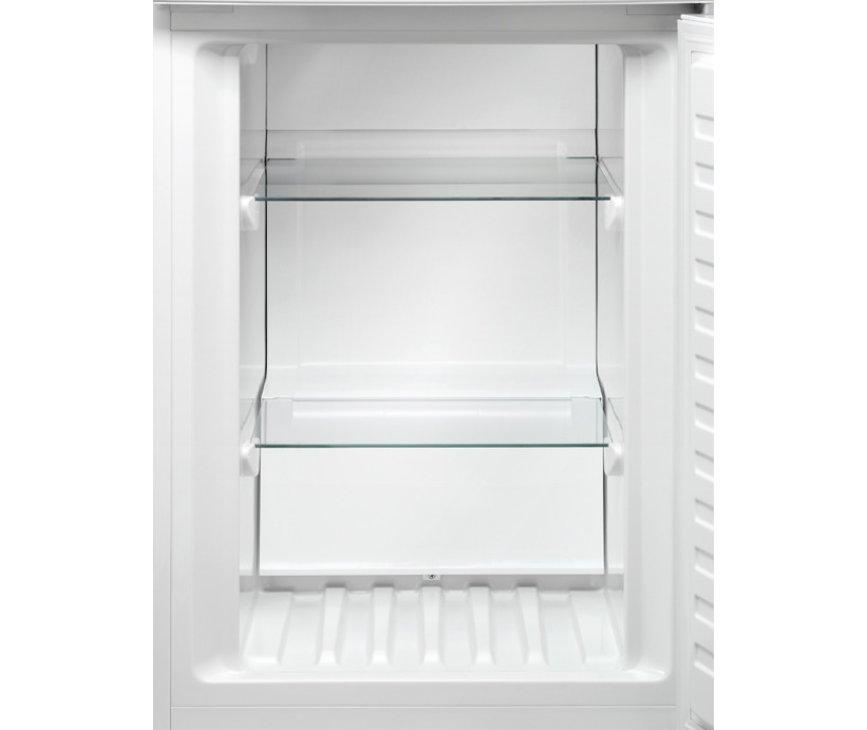 Het vriesgedeelte van de Aeg S53430CNX2 koelkast rvs