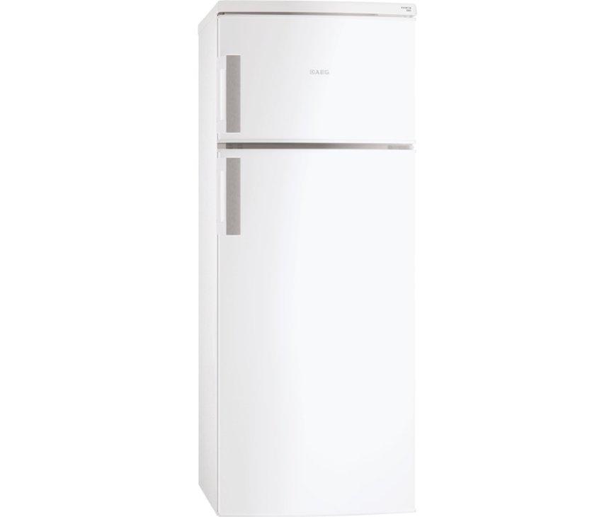 De buitenzijde van de Aeg S72300DSW1 vrijstaande koelkast
