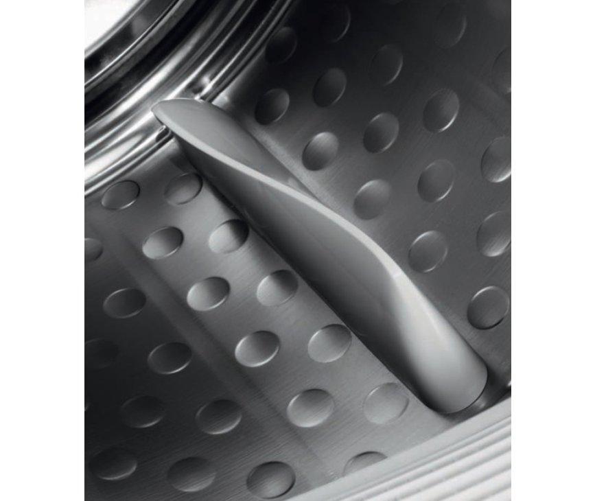 De vernieuwde ProTex trommel aanwezig in de Aeg T65470AH1 warmtepompdroger