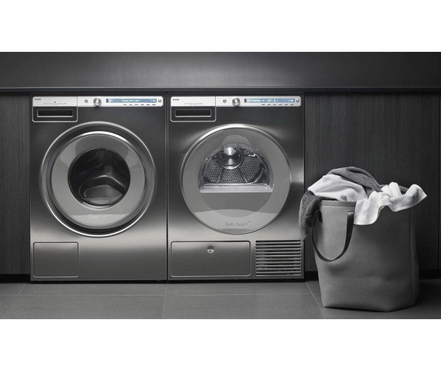 Asko W4086C.S/2 wasmachine roestvrijstaal