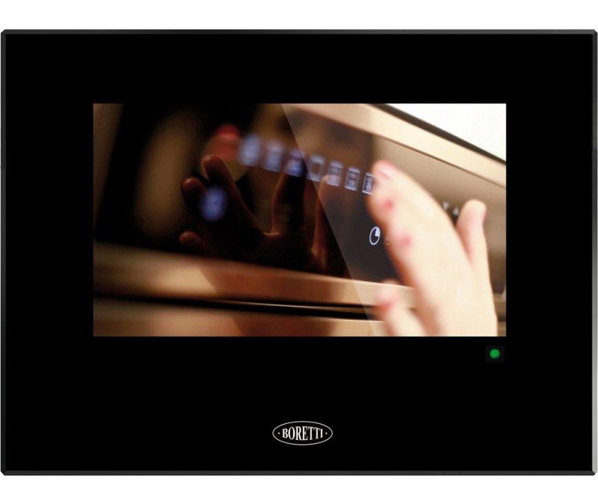 Boretti BPTV45ZWGL televisie voor keuken - zwart glas