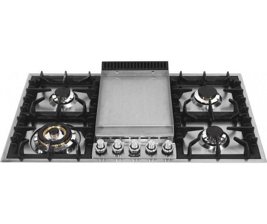 Boretti GK907IX inbouw kookplaat met frytop