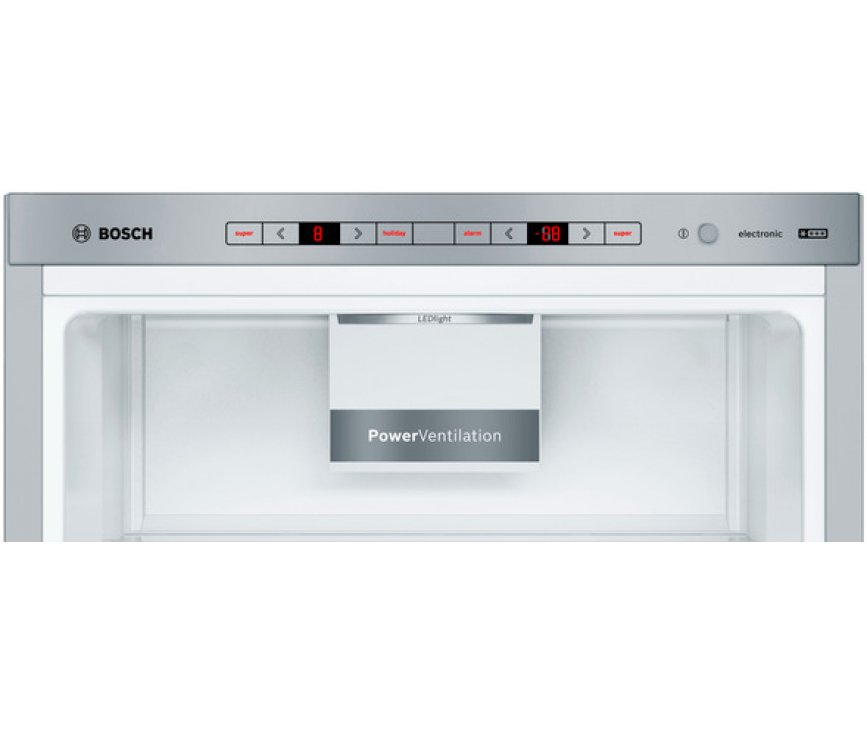 Bosch KGE398IBP vrijstaande koelkast - roestvrijstaal - low-frost