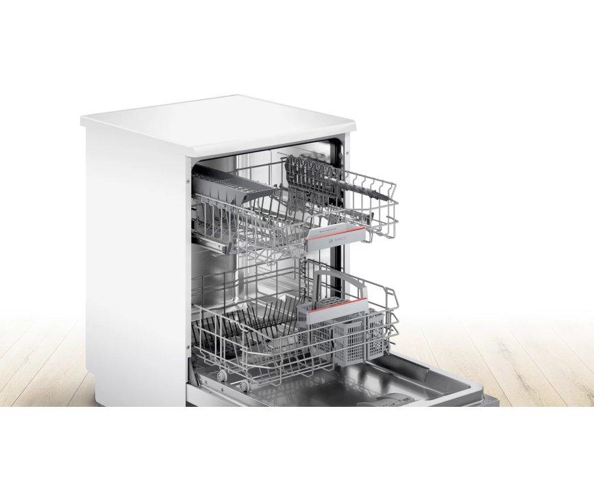 Bosch SGS4HAW48E vrijstaande vaatwasser - wit
