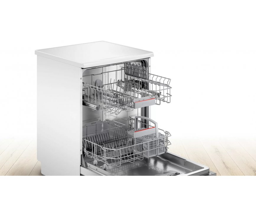 Bosch SGS4HTW47E vrijstaande vaatwasser - wit