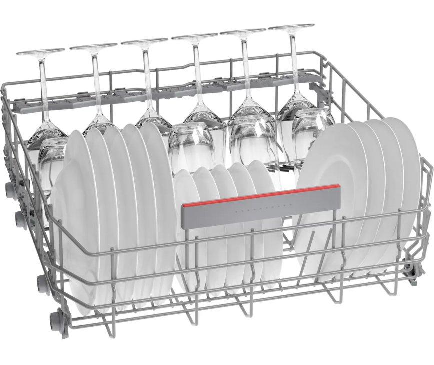 Bosch SHH4HCX48E verhoogde inbouw vaatwasser met besteklade