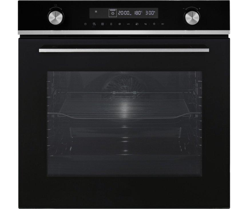 Etna MO470ZT inbouw oven met magnetron - zwart - nis 60 cm.