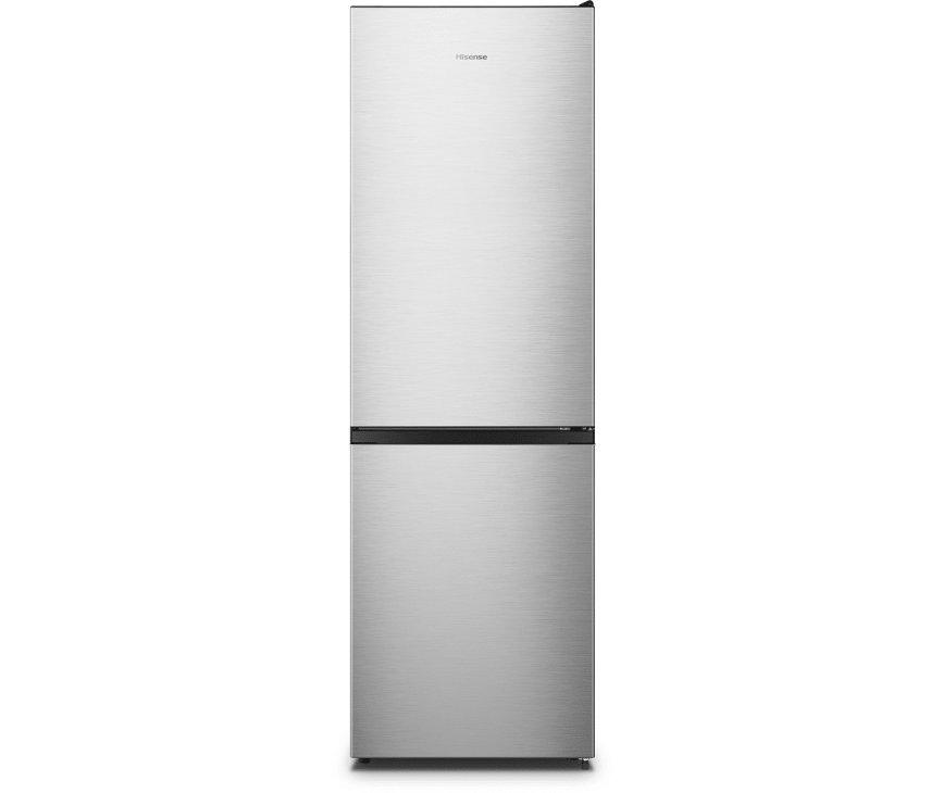 Hisense RB390N4AC2 koelkast - rvs-look - 186 cm.