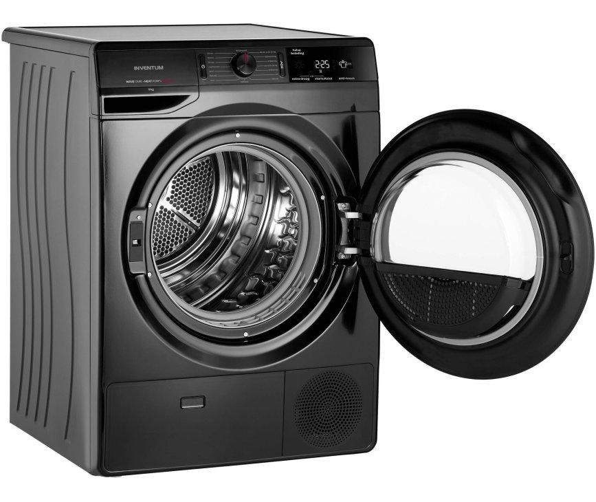 Inventum VDW9001B warmtepompdroger - zwart