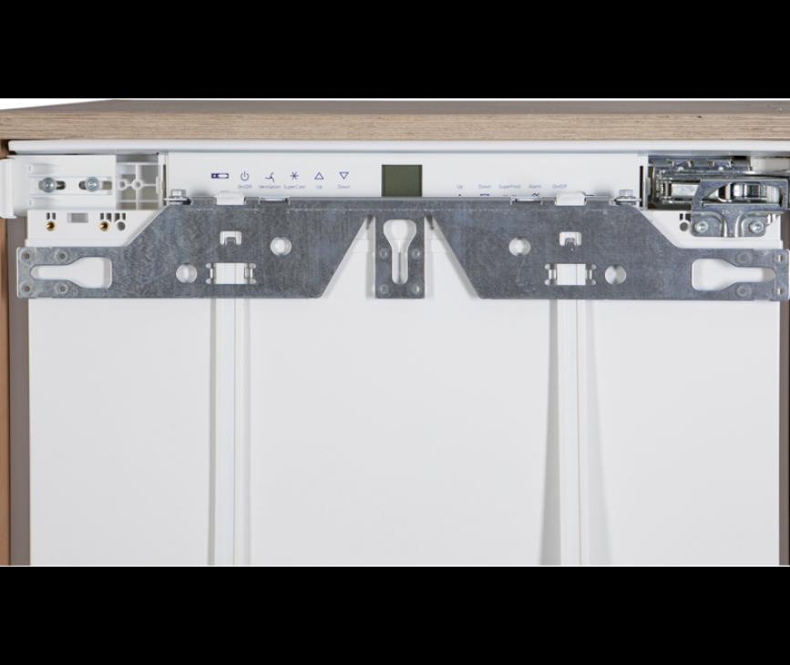 De Liebherr UIG1323 beschikt over een deur-op-deur montage systeem