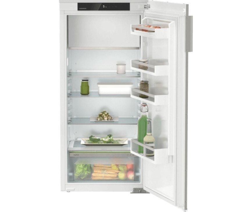 Liebherr DRe4101-20 inbouw koelkast - decorlijsten - nis 123 cm.