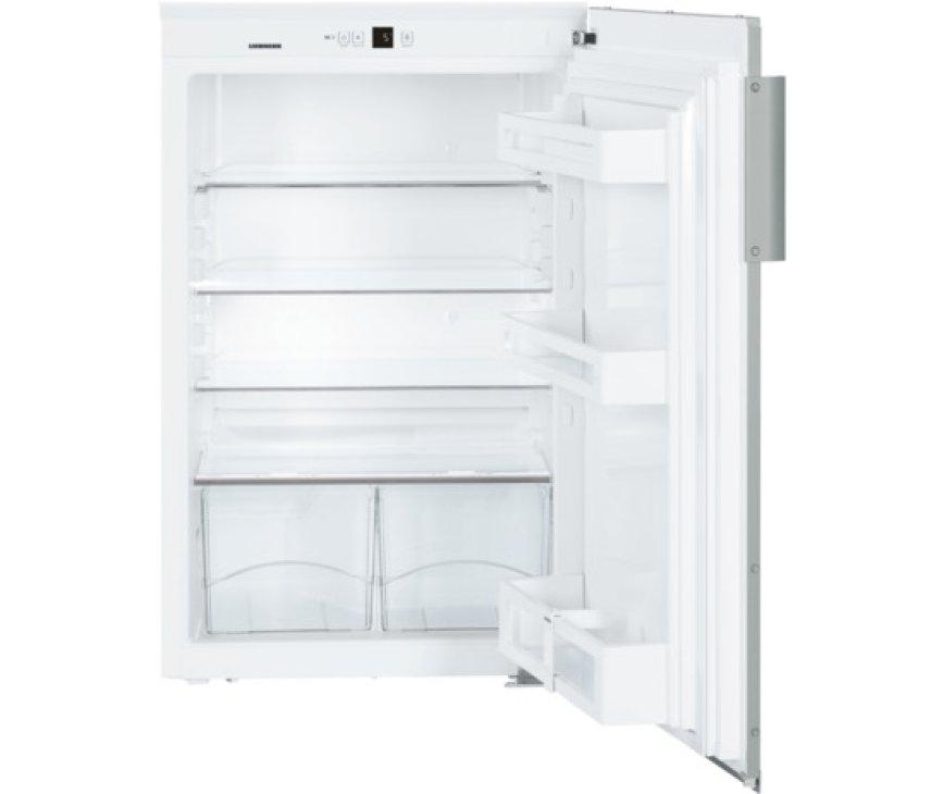 Het interieur van de Liebherr EK1620 inbouw koelkast