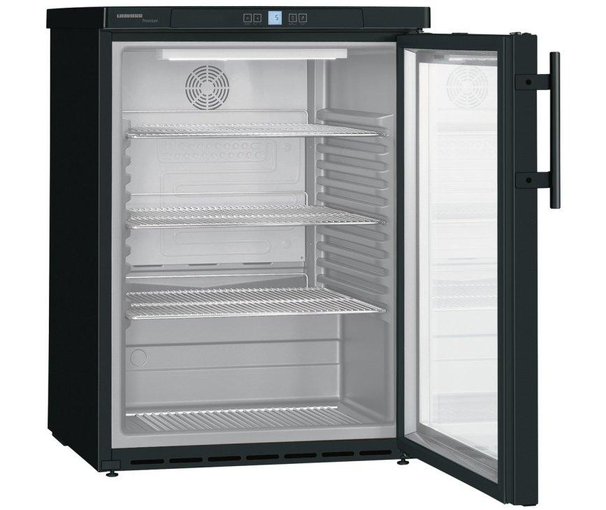 Liebherr FKUv1613-24/744 onderbouw zwart professionele koelkast