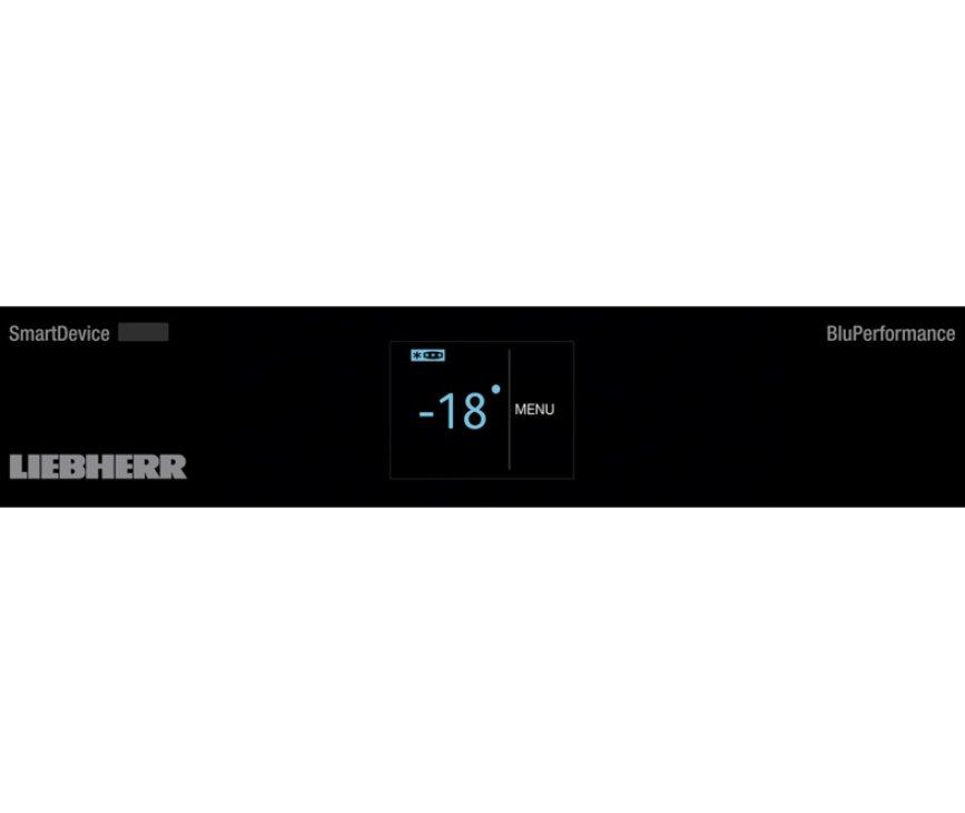 Het display van de Liebherr GNP4655 vriezer / vrieskast wit
