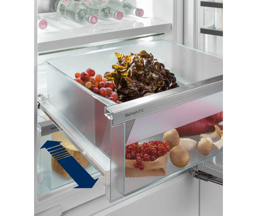 Liebherr ICBb5152-20 inbouw koelkast met BioFresh - nis 178 cm.