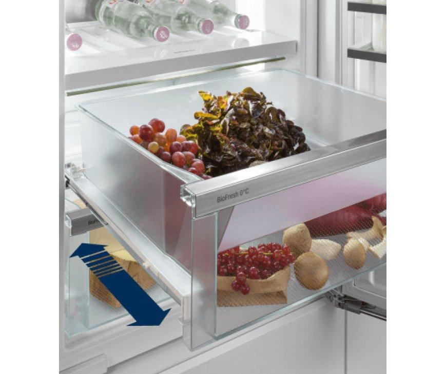 Liebherr ICBNd5163-20 inbouw koelkast met ijsblokjes en BioFresh