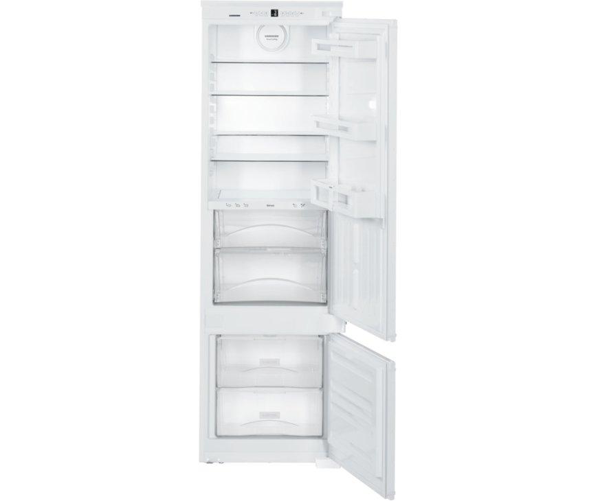 Het interieur van de Liebherr ICBS3224 inbouw koelkast
