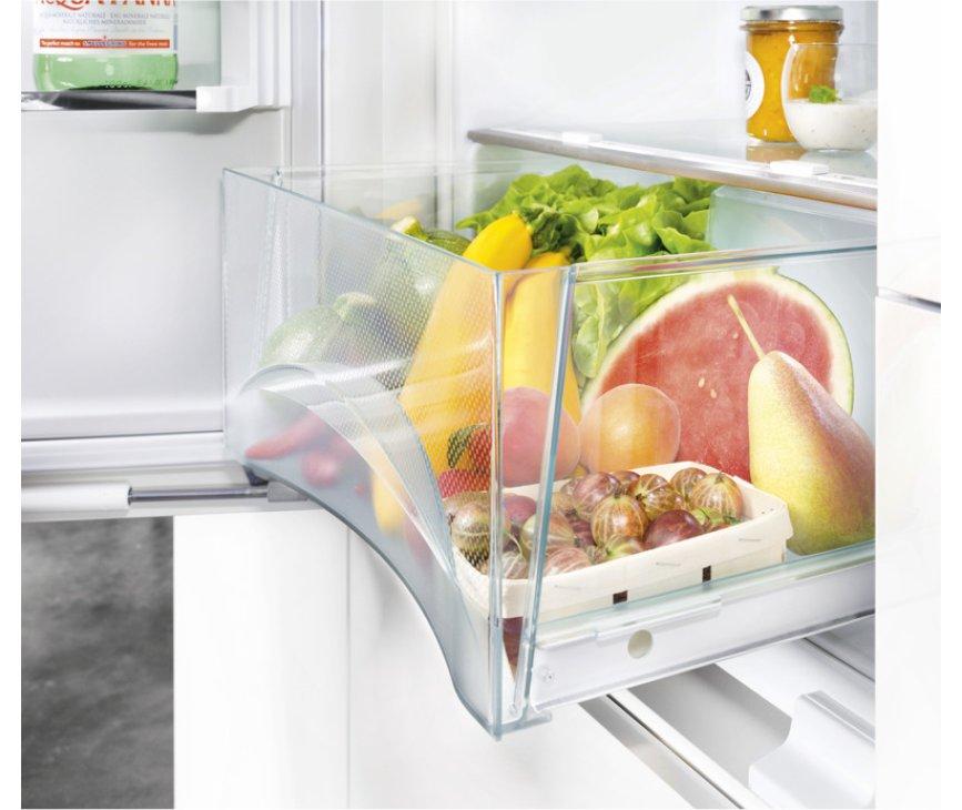 De BioCool ruimte van de Liebherr ICN3376 inbouw koelkast