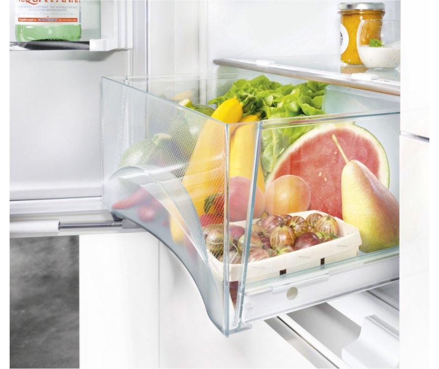 De Liebherr ICN3386 inbouw koelkast heeft BioCool