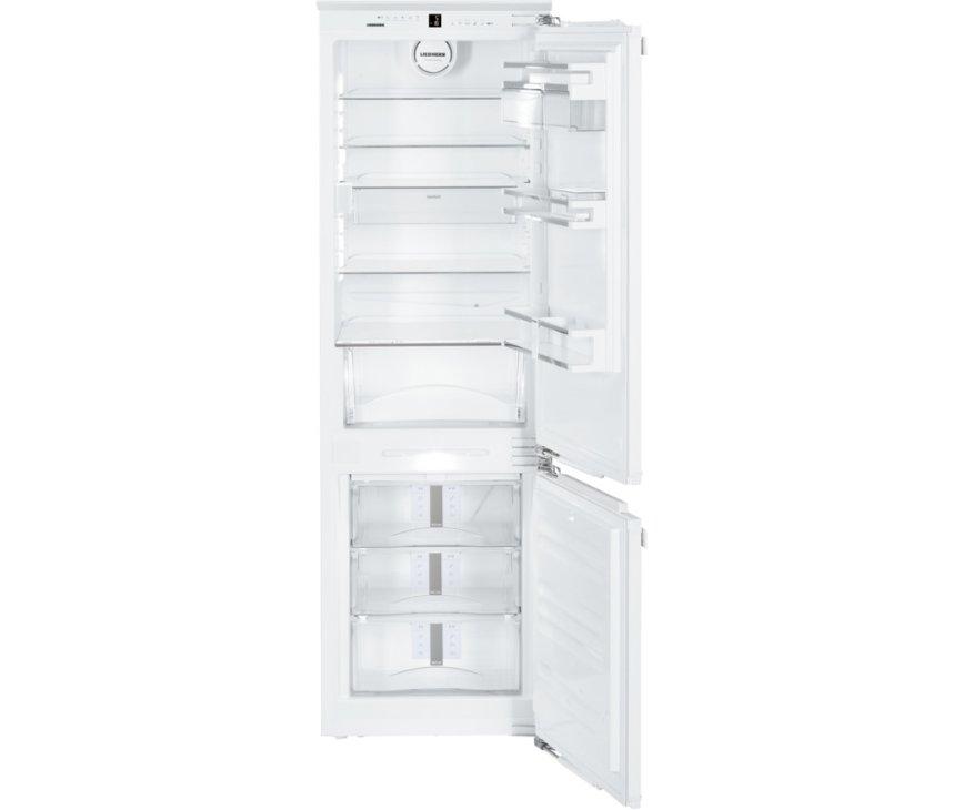 Het interieur van de Liebherr ICNP3366 inbouw koelkast
