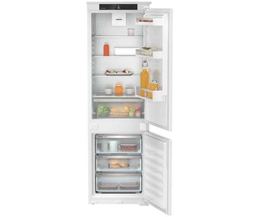 Liebherr ICNSf5103-20 inbouw koelkast met no-frost vriezer - nis 178 cm.
