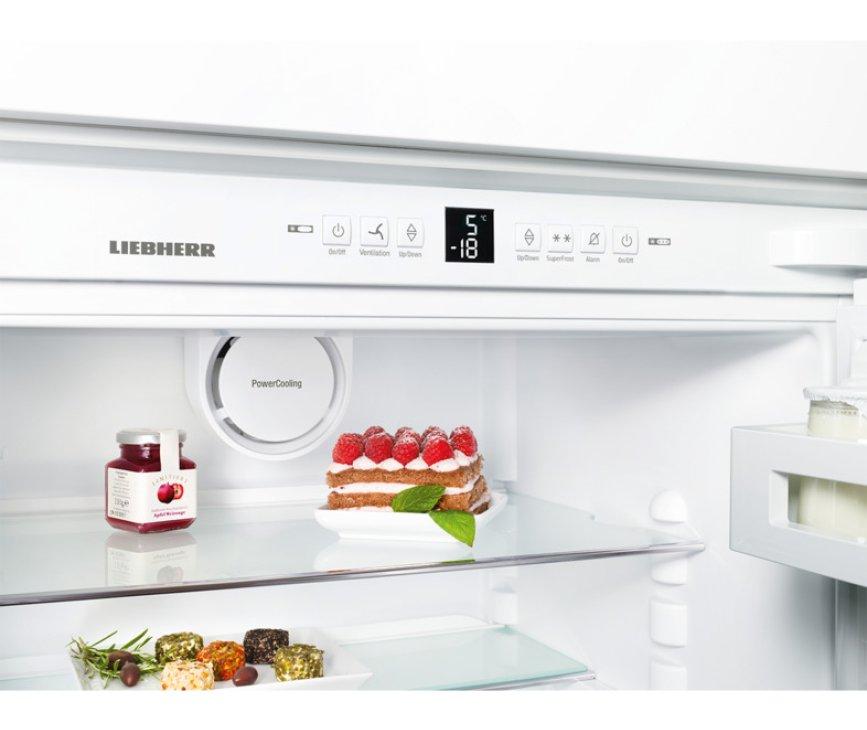 Het bedieningspaneel van de Liebherr ICP3324 inbouw koelkast