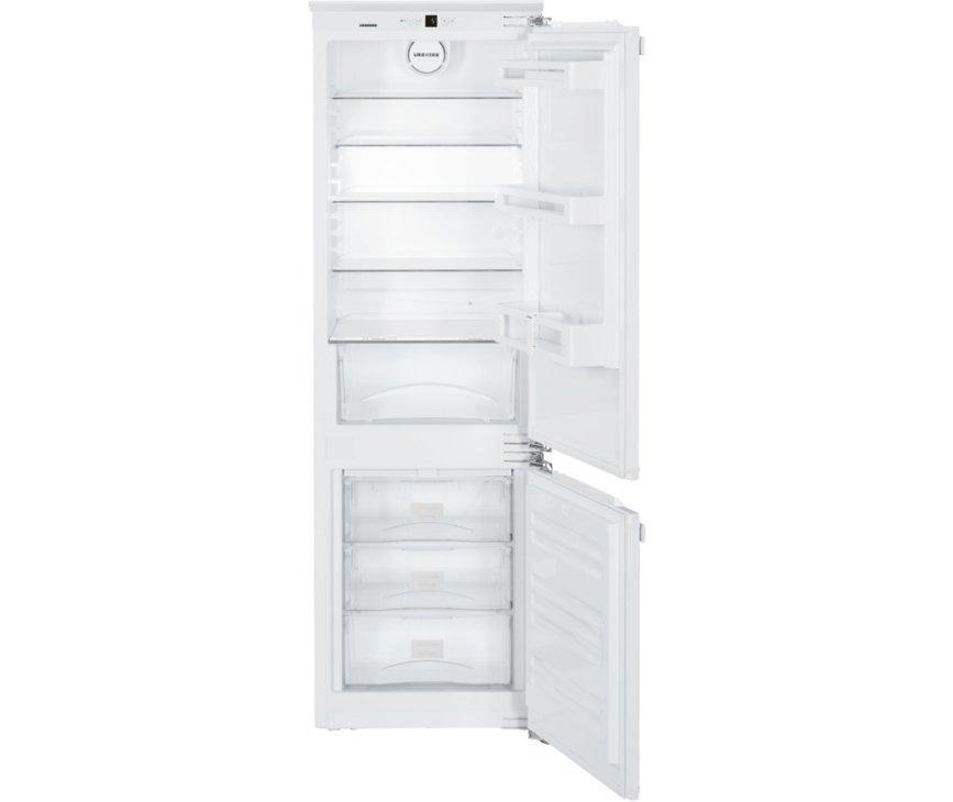 Het interieur van de Liebherr ICUN3324 inbouw koelkast