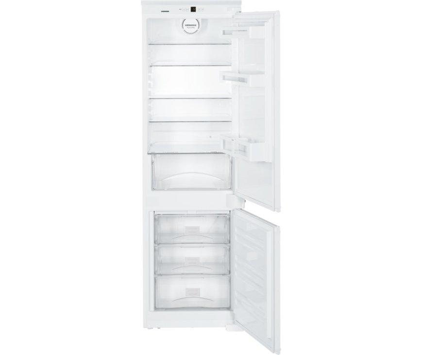 Het interieur van de Liebherr ICUNS3324 inbouw koelkast