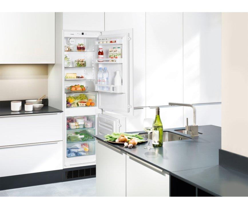 De Liebherr ICUS3324 inbouw koelkast is volledig integreerbaar in uw keuken