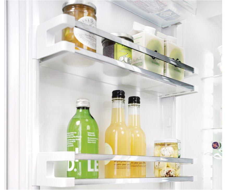De deurvakken van de Liebherr IKP1660 inbouw koelkast