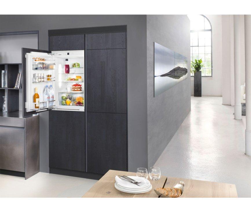 De Liebherr IKP1660 inbouw koelkast is goed in uw keuken te integreren